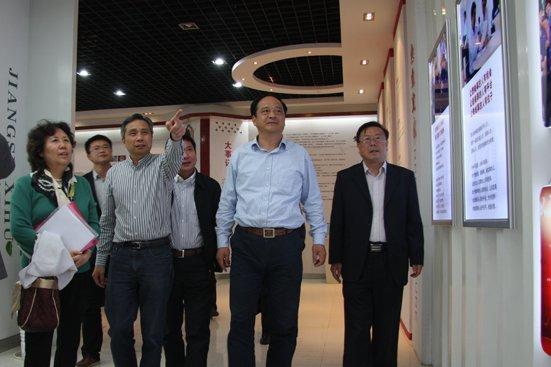 中國信息化推進聯盟 冶金和信息化專業委員會劉翠珍秘書長一行蒞臨公司參觀指導!